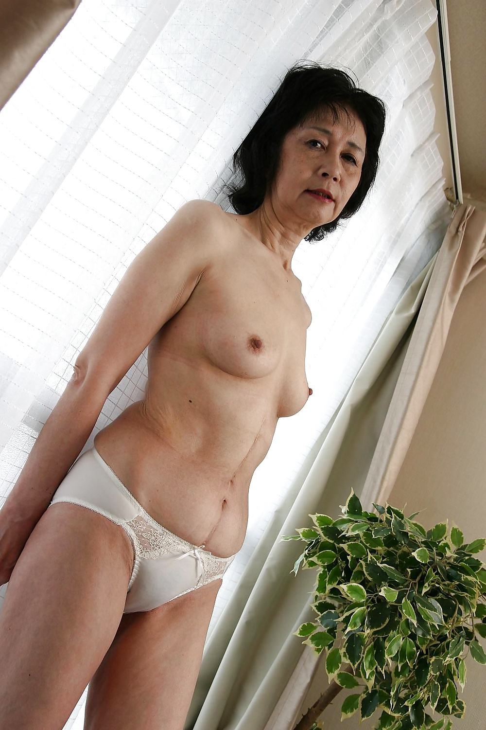 Naked asian grannies
