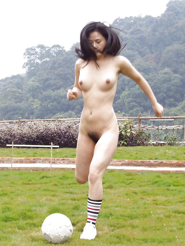 naked chinese woman in public